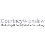 Courtney Wienslaw Marketing Consulting profile image.