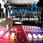 Word Up Sound & Light profile image.