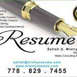 Mistry Résumé / Mistry Consulting Services Inc. profile image.