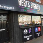 Herts Signs & Graphics Ltd profile image.