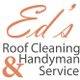 Ed's Roof Cleaning logo