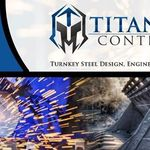 TITAN Steel Contractors profile image.