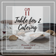Table For 2 Food & Catering logo
