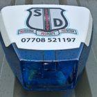 S D SECURITY logo