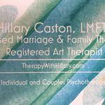 Hillary Caston, LMFT, TherapyWithHillary.com profile image.