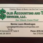Solid Accounting and Tax profile image.
