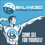 Balanced Fitness and Health profile image.