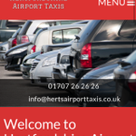 Hertfordshire Airport Taxis profile image.