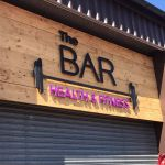 The bar health and fitness profile image.