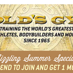 Gold's Gym profile image.