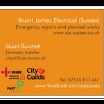 Stuart James Electrical profile image.