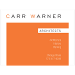Carr Warmer. Architects profile image.