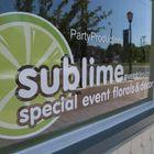 Party Productions/Sublime Event Design logo