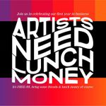 Artists Need Lunch Money profile image.