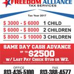 Freedom Alliance Tax Services profile image.
