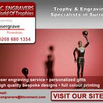 PC Engravers World of Trophies profile image.