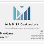 M & M SA Contractors profile image.