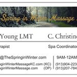 The Spring In Winter Massage LLC profile image.