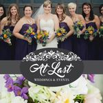 At Last Weddings & Events profile image.