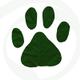 Green Paws and Claws logo