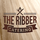 The Ribber Catering logo