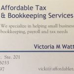 Affordable Tax & Bookkeeping Services  profile image.