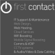 First Contact logo