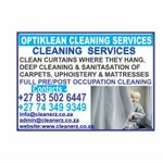 Optiklean Cleaning Services profile image.