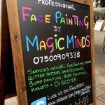 Magic Minds Face Painting profile image.