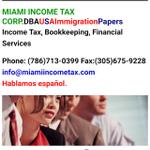 Miami Income Tax Corp profile image.
