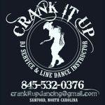 Crank It Up DJ Service and Linedance Instruction profile image.