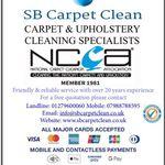 SB Carpet Clean profile image.