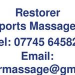 Restorer Mobile Sports Massage Therapy  profile image.