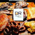 DR WoodFire Catering profile image.