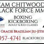 Black Force MMA profile image.