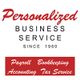 Personalized Business Service logo