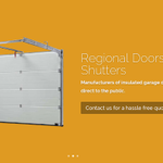 Regional Doors And Shutters profile image.