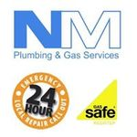 N M Plumbing and gas services profile image.