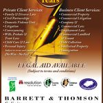 Barrett & Thomson Solicitors profile image.