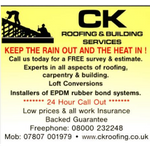 CK ROOFING & BUILDING profile image.
