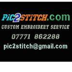 Pic2stitch custom embroidery & digitizimg service profile image.