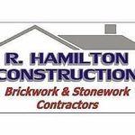 R Hamilton brickwork and stonework profile image.