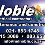 Noble Electrical Contractors cc profile image.