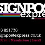 Signpost express profile image.