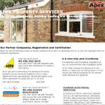Apex property services profile image.
