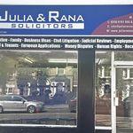 JULIA & RANA SOLICITORS profile image.
