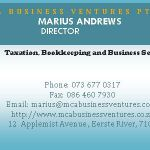 MCA  Business Ventures Pty Ltd profile image.