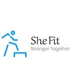 She Fit logo