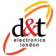 D&T Electronics logo
