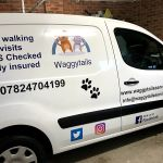 Waggytails dog walking & pet services profile image.